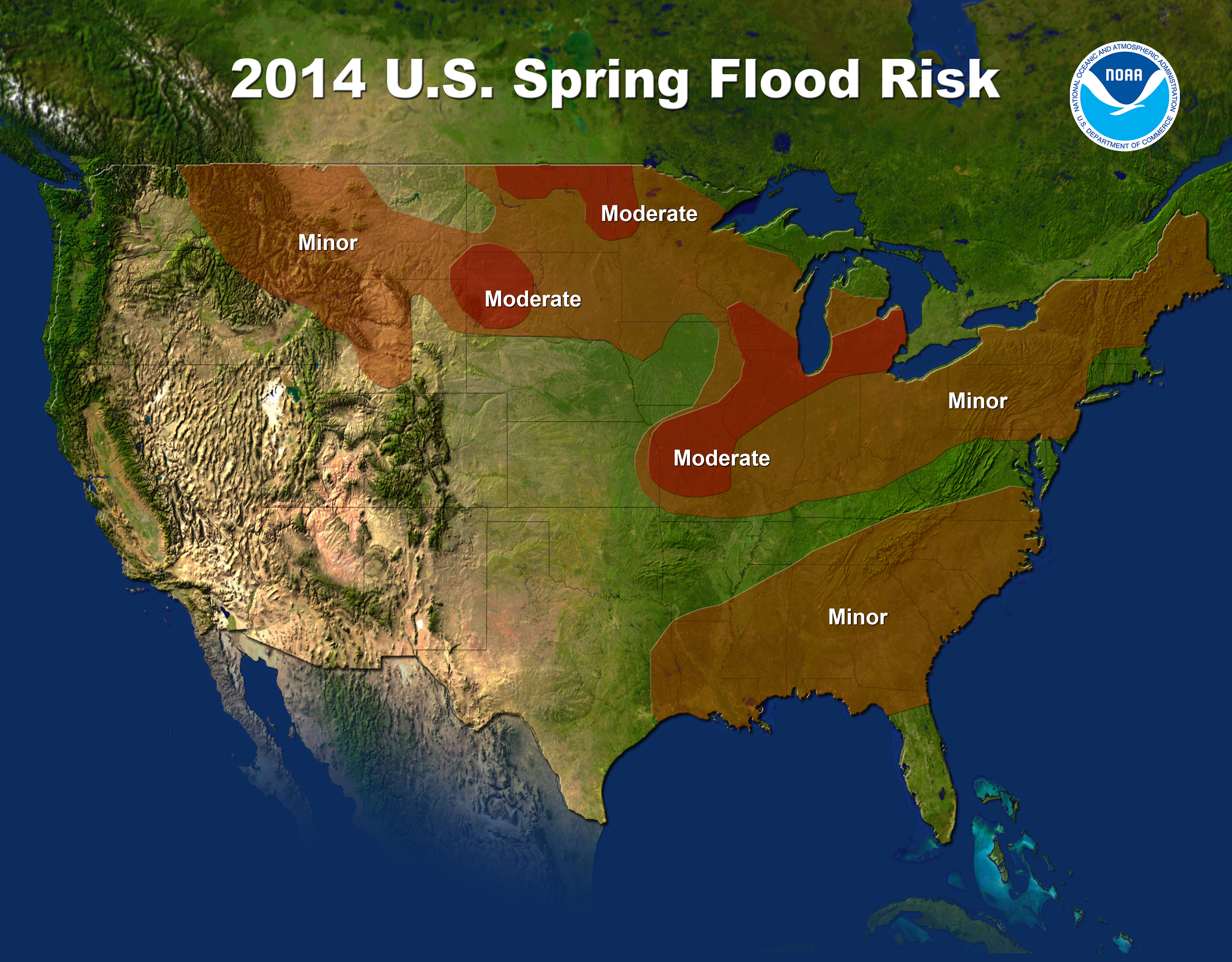 NOAA Flooding Expectations