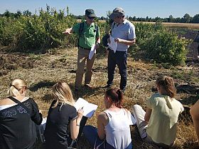 Penn State scientist visits Ukraine to learn more about their fertile soil