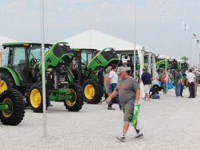 Focus Rests on Increasing Production at Farm Progress Show