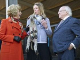 Irish President Tours FAI Farm During State Visit to UK