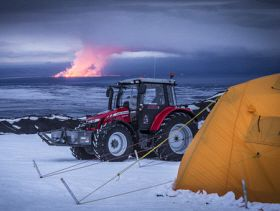 Massey Ferguson: MF 5610 Tractor Journeys to South Pole