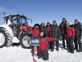 Voyage to the South Pole on a Tractor - Mission Complete
